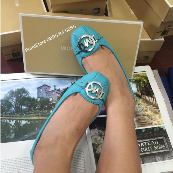 Giay Michael Kors Aqua Blue