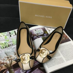 Michael Kors Fulton Moc Bisque Black