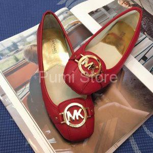 Giay Michael Kors Fulton Red Do khoa vang