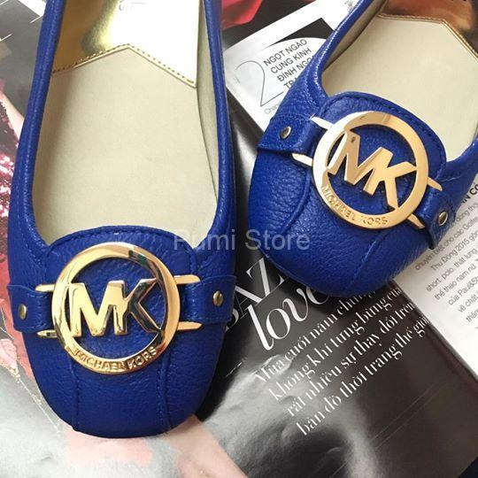 Michael Kors Fulton Moc Electric Blue