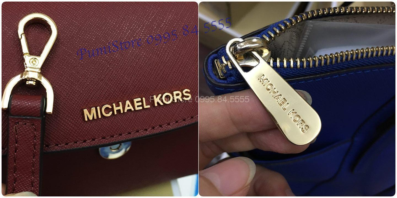 6 bước cơ bản để nhận biết túi Michael Kors authentic