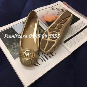 Giày Michael Kors Gold Metallic