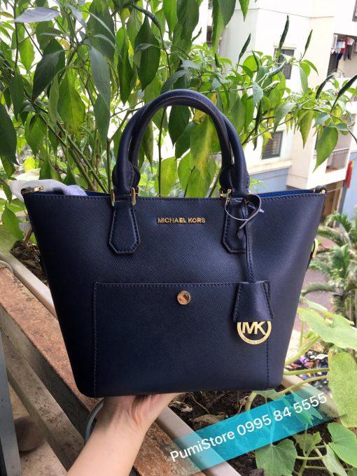 Tui Michael Kors Greenwich medium saffiano leather satchel