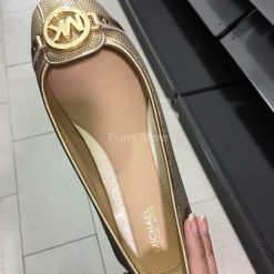 Michael Kors Fulton Moc Gold Metallic
