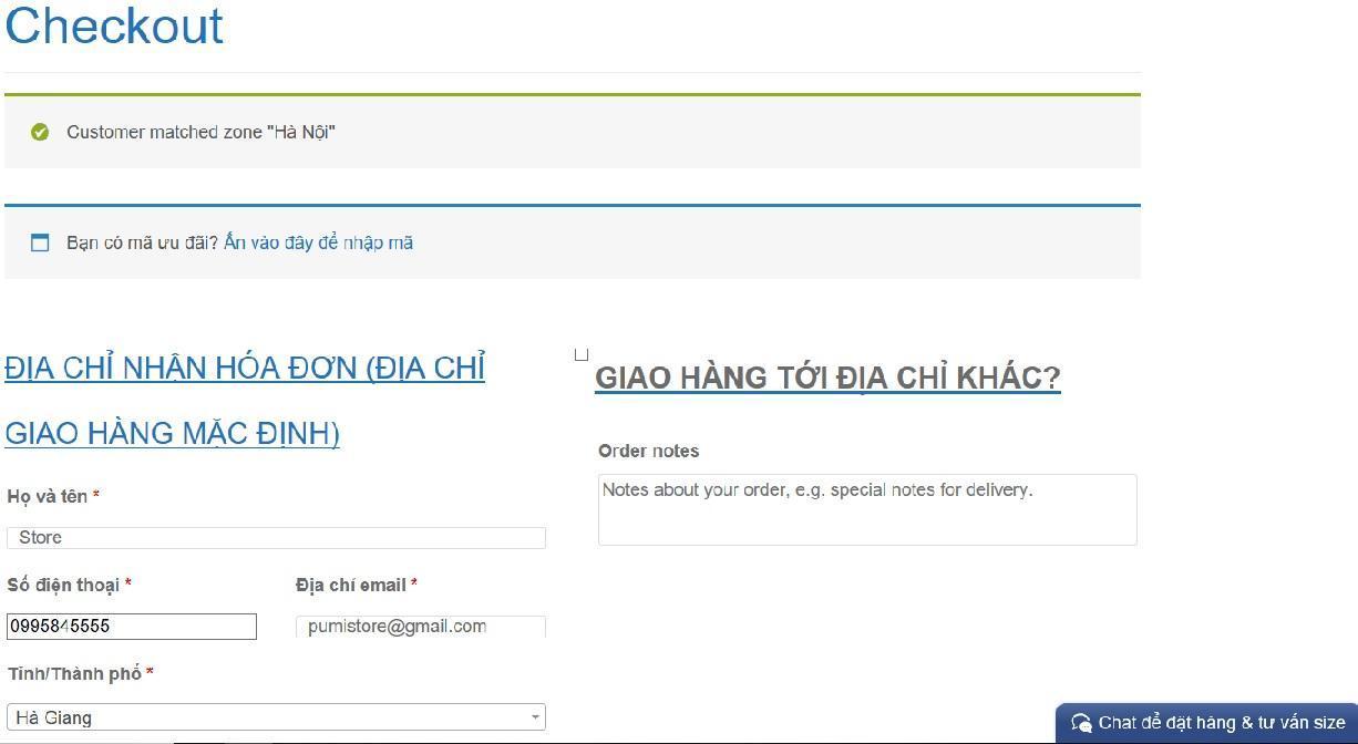Huong dan thanh toan qua web pumistore.com
