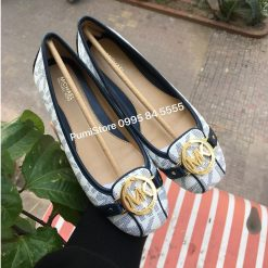 Giay Michael Kors White Navy