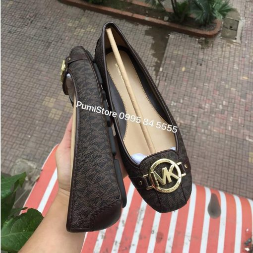 Giay Michael Kors Brown Mini MK