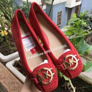 Giay Michael Kors Red suede
