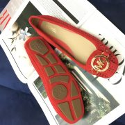 Giay Michael Kors Fulton red suede