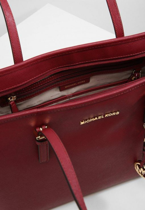 TTui Michael Kors Jet Set Travel Top Zip Tote Mulberry