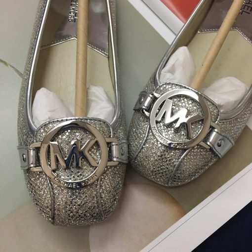 Giay Michael Kors Fulton Silver Glitter