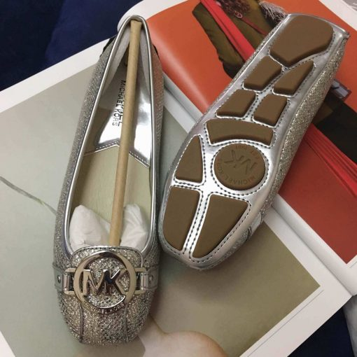 Giay Michael Kors Silver Glitter (bac ong anh)