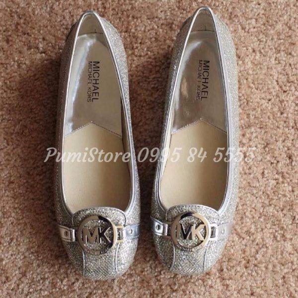 Giay Michael Kors Silver Glitter