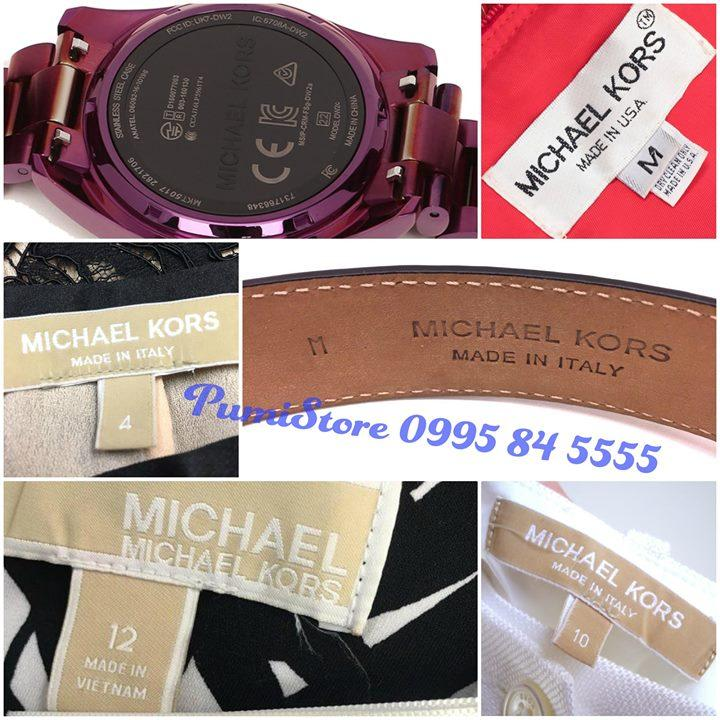Michael Kors made in Vietnam