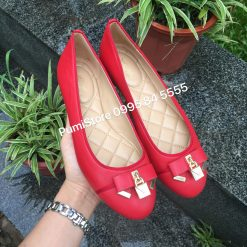 Giay Michael Kors Alice Bright Red