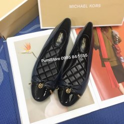 Giay Michael Kors Melody Toe Cap Navy/Black