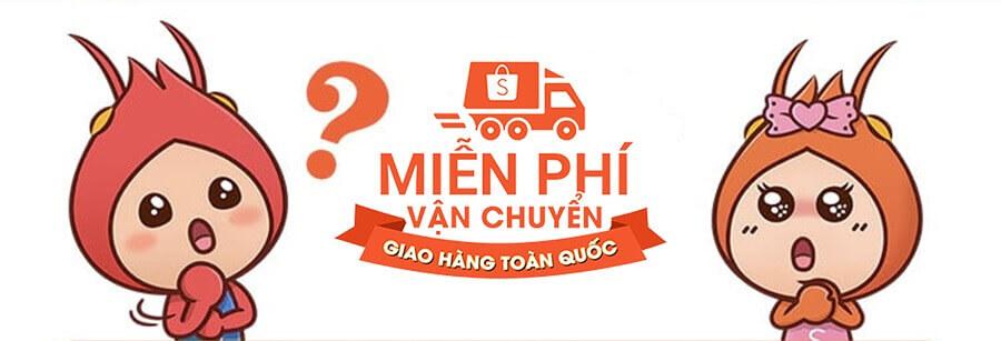 Mien phi van chuyen Shopee