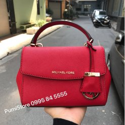 Tui xach Michael Kors Ava Bright Red