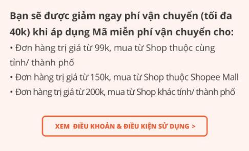 Mã miễn phí vận chuyển Shopee