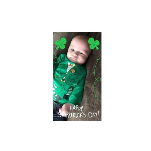 Bodysuit Carter's Be Trai Tay Dai Patrick's Day Leprechaun Costume Green