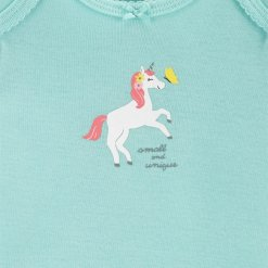 Set 3 mon be gai Carter's Unicorn Little Character Pink/Mint