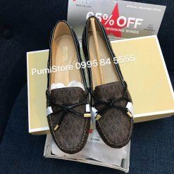 Giay Michael Kors Sutton Brown black