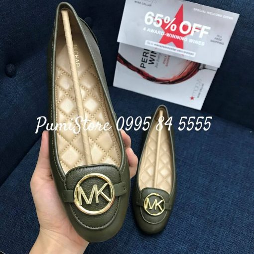 Giay Michael Kors Lillie Olive