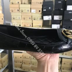 Giay Michael Kors Black Snake