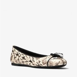 Giay Michael Kors Alice Natural Snake
