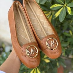 Giày Michael Kors Lillie moccasin Accorn