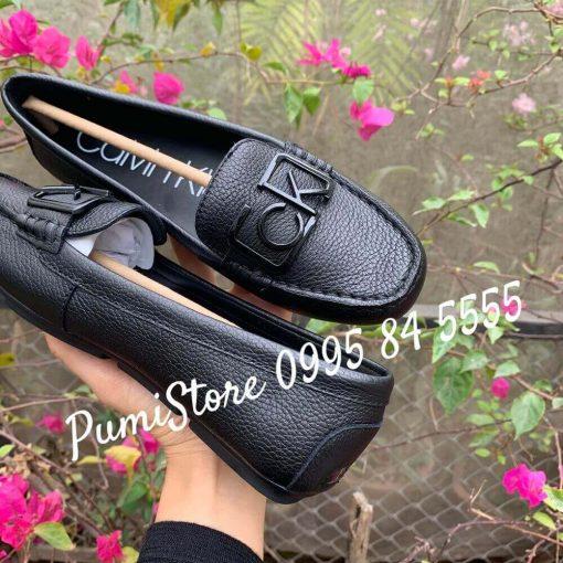 Giay Calvin Klein Ladeca Loafer Black