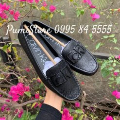 Giay Calvin Klein Ladeca Loafer Black