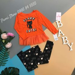 Carter's Halloween Cat Top & Legging
