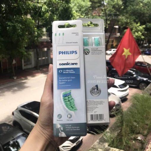 Dau ban chai Philips Sonicare C1 ProResults
